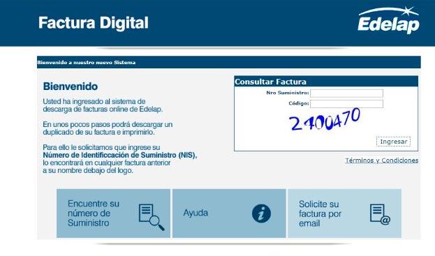 factura digital edelap usuario