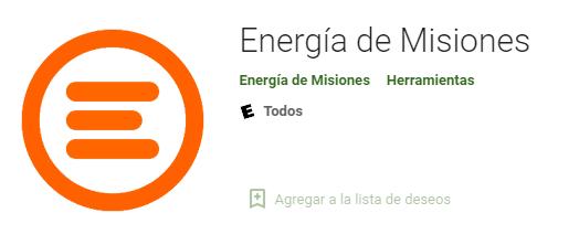 energia de misiones app